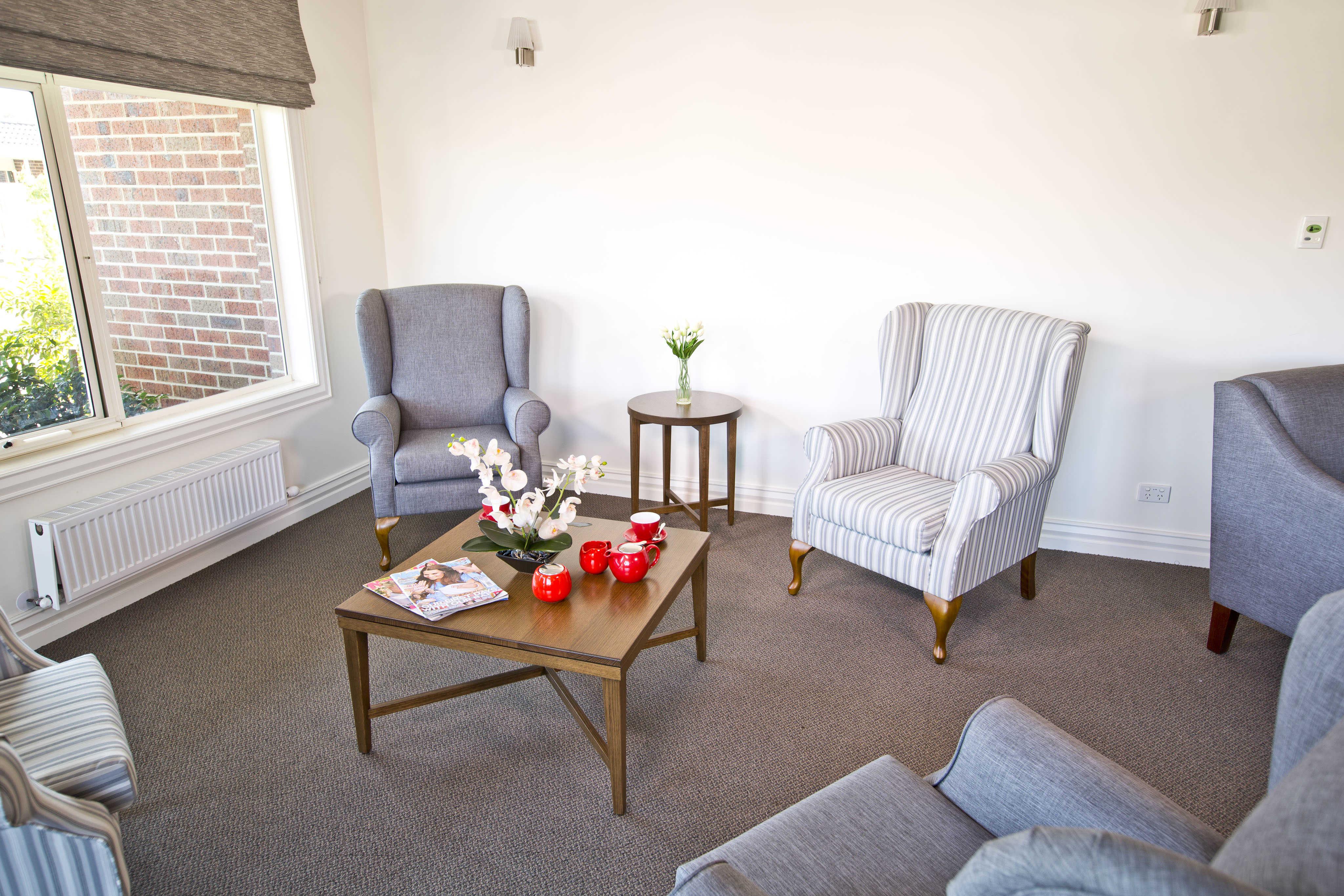 Shot of lounge room from Pakenham Gardens
