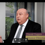 Screenshot of video featuring David Tepper