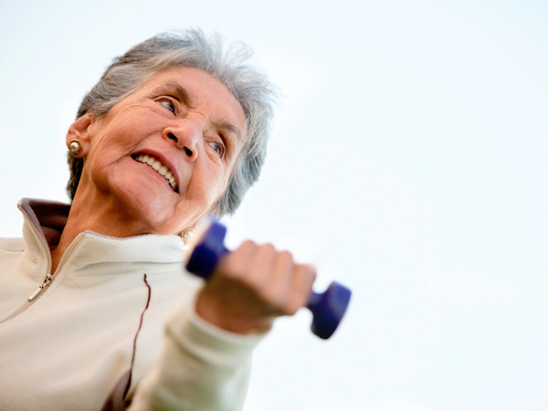 Exercises for elderly ladies
