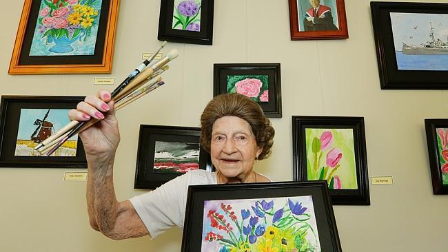 Creative arts and the elderly