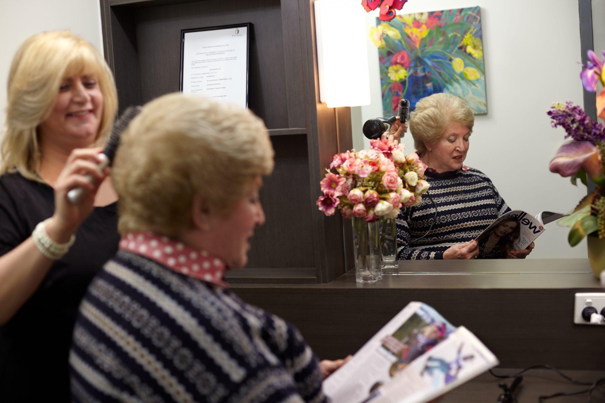 Gold Age Australia Camberwell Gardens Hair Dressing Salon