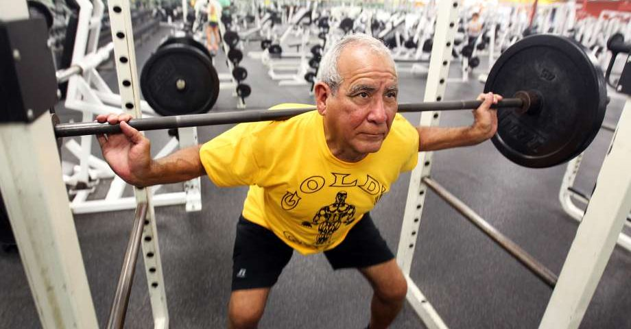 Senior Fitness: Powerlifting Helps Combat Depression
